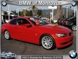 2008 Crimson Red BMW 3 Series 328i Convertible #48866792