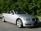 2008 Titanium Silver Metallic BMW 3 Series 335i Convertible #48866622
