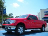 2011 Race Red Ford F150 XLT SuperCab 4x4 #48866625