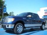 2011 Dark Blue Pearl Metallic Ford F150 XLT SuperCrew 4x4 #48866628