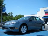 2011 Steel Blue Metallic Ford Fusion SE #48866629