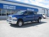 2010 Deep Water Blue Dodge Ram 3500 Big Horn Edition Crew Cab 4x4 #48866995