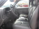 2005 Chevrolet Silverado 1500 LS Regular Cab 4x4 Dark Charcoal Interior