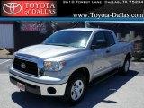 2008 Silver Sky Metallic Toyota Tundra Double Cab #48924931