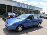 2003 French Blue Metallic Ford Focus SE Sedan #48924970