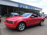 2007 Torch Red Ford Mustang V6 Deluxe Convertible #48924971