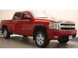 2009 Victory Red Chevrolet Silverado 1500 LTZ Crew Cab 4x4 #48925303