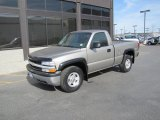 2000 Light Pewter Metallic Chevrolet Silverado 1500 LS Regular Cab 4x4 #48925307