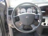 2008 Dodge Ram 1500 Laramie Mega Cab 4x4 Steering Wheel