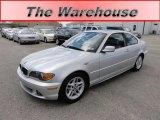 2004 Titanium Silver Metallic BMW 3 Series 325i Coupe #48924815