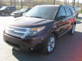 2011 Bordeaux Reserve Red Metallic Ford Explorer XLT 4WD #48925144