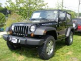 2011 Black Jeep Wrangler Rubicon 4x4 #48925344