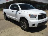 2011 Super White Toyota Tundra TRD Rock Warrior Double Cab 4x4 #48925174