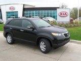 2011 Ebony Black Kia Sorento EX V6 #48925377