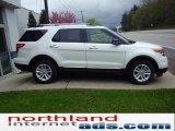 2011 White Platinum Tri-Coat Ford Explorer XLT 4WD #48924886