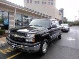 2003 Black Chevrolet Silverado 1500 Z71 Extended Cab 4x4 #48925384