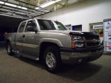 2003 Light Pewter Metallic Chevrolet Silverado 1500 Extended Cab 4x4 #48925060