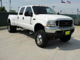 Oxford White Ford F350 Super Duty in 2004