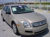 2008 Dune Pearl Metallic Ford Fusion S #438929
