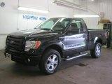 2010 Tuxedo Black Ford F150 STX Regular Cab 4x4 #48925426