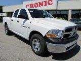 2011 Bright White Dodge Ram 1500 ST Quad Cab 4x4 #48981034