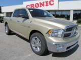 2011 White Gold Dodge Ram 1500 Lone Star Crew Cab 4x4 #48981035