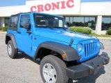 2011 Cosmos Blue Jeep Wrangler Sport 4x4 #48981043