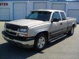 2005 Silver Birch Metallic Chevrolet Silverado 1500 LS Extended Cab #48981454