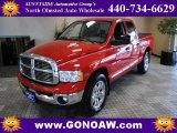 2004 Flame Red Dodge Ram 1500 SLT Quad Cab #48980655