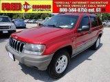 2002 Inferno Red Tinted Pearlcoat Jeep Grand Cherokee Laredo #48981467