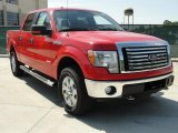 2011 Race Red Ford F150 XLT SuperCrew 4x4 #48981064
