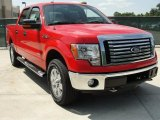 2011 Race Red Ford F150 XLT SuperCrew 4x4 #48981065