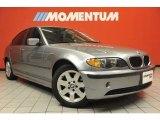 2004 Silver Grey Metallic BMW 3 Series 325i Sedan #48981273