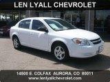 2007 Summit White Chevrolet Cobalt LS Sedan #48980891