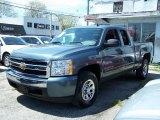 2008 Blue Granite Metallic Chevrolet Silverado 1500 LS Extended Cab #48981478