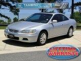2002 Satin Silver Metallic Honda Accord EX V6 Coupe #48981487