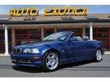 2002 Topaz Blue Metallic BMW 3 Series 330i Convertible #48981499