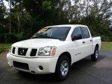 2007 White Nissan Titan Crew Cab #442810