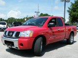 2007 Red Alert Nissan Titan XE King Cab #442876