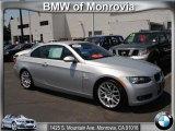 2008 Titanium Silver Metallic BMW 3 Series 328i Convertible #48981113