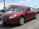 2008 Red Jewel Tint Coat Chevrolet Malibu LTZ Sedan #48980961