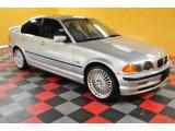 2000 Titanium Silver Metallic BMW 3 Series 328i Sedan #48981312