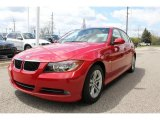 2008 Crimson Red BMW 3 Series 328i Sedan #48980974