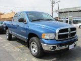 2005 Atlantic Blue Pearl Dodge Ram 1500 ST Quad Cab 4x4 #48981549