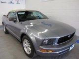 2007 Tungsten Grey Metallic Ford Mustang V6 Premium Convertible #48981335