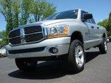 2006 Bright Silver Metallic Dodge Ram 1500 Big Horn Edition Quad Cab 4x4 #48980828