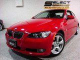 2007 Crimson Red BMW 3 Series 328xi Coupe #4892752
