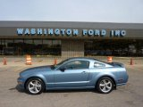 2007 Windveil Blue Metallic Ford Mustang GT Premium Coupe #48981174