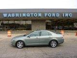 2008 Moss Green Metallic Ford Fusion SEL V6 AWD #48981181