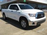 2011 Super White Toyota Tundra SR5 Double Cab 4x4 #48981202